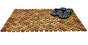 holz badematte 80x50 akazien badezimmermatte badvorleger. Black Bedroom Furniture Sets. Home Design Ideas