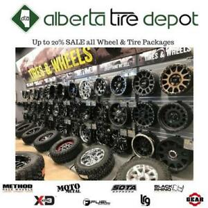 LOWEST PRICE Rims Tires Niche Rotiform Dub Fuel TSW Beyern Black Rhino Method Lexani ASANTI Fuel MOTO Metal Pro comp Calgary Alberta Preview
