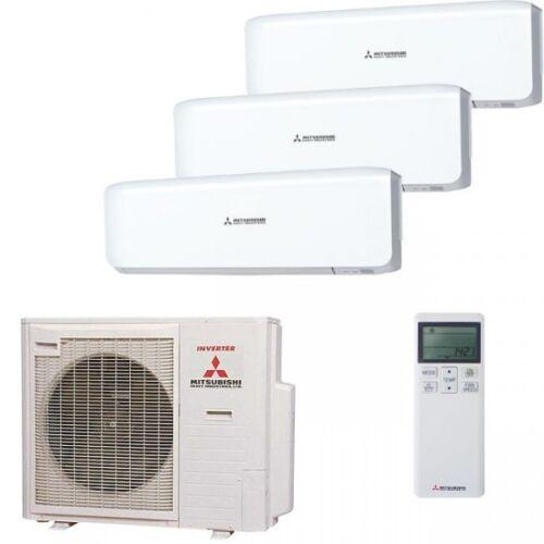 MITSUBISHI SPLIT ARIA CONDIZIONATA 2x srk25srk35 scm718,5kw raffreddare//riscaldare 9,4kw,