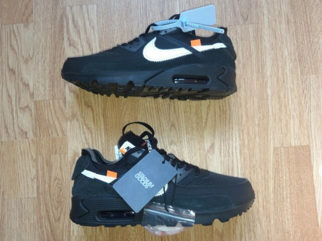 Nike Air Max 90 Off-white Black for sale online | eBay