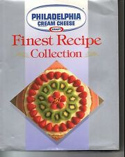 Philadelphia Brand Cream Cheese Finest Recipe Collection Cookbook