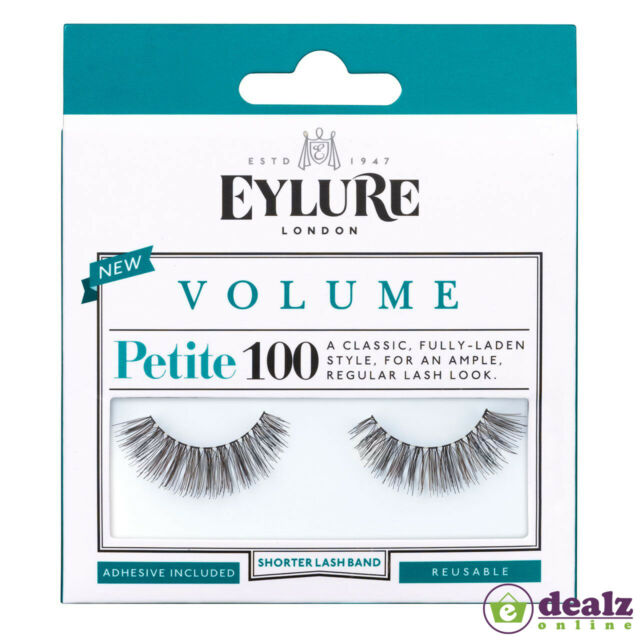 8ea3ae93ea4 3 X EYLURE False Eyelashes Volume Lashes Petite No.101 Adhesive Inc ...