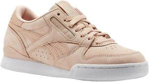 Reebok-Phase-I-Pro-Nude-NBK-Damen-Leder-Sneaker-Gr-37-5-Damenschuhe-neu