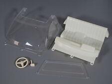 Windshield Seat Steering Wheel Dashboard Set Tamiya RC 1/10 Toyota Hilux Bruiser