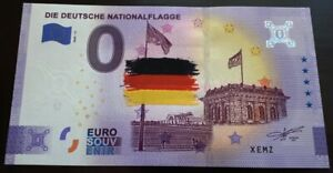 Billet Souvenir 0 euro - Die Deutsche Nationalflagge 2020 Couleur Color