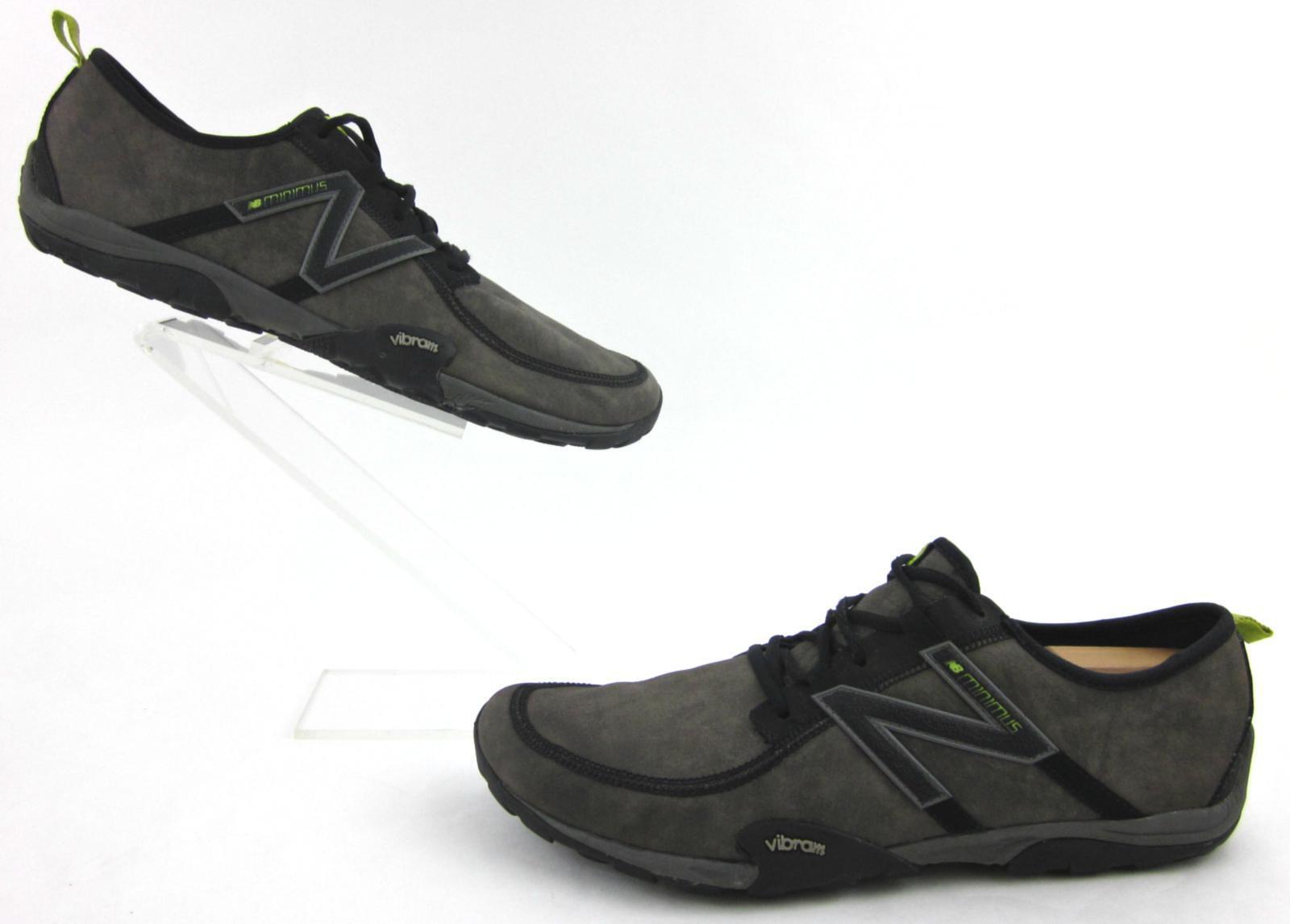 New Balance Minimus 10 Trail Zapatos de Fitness gris humo nos Cuero 12.5D MT10LG