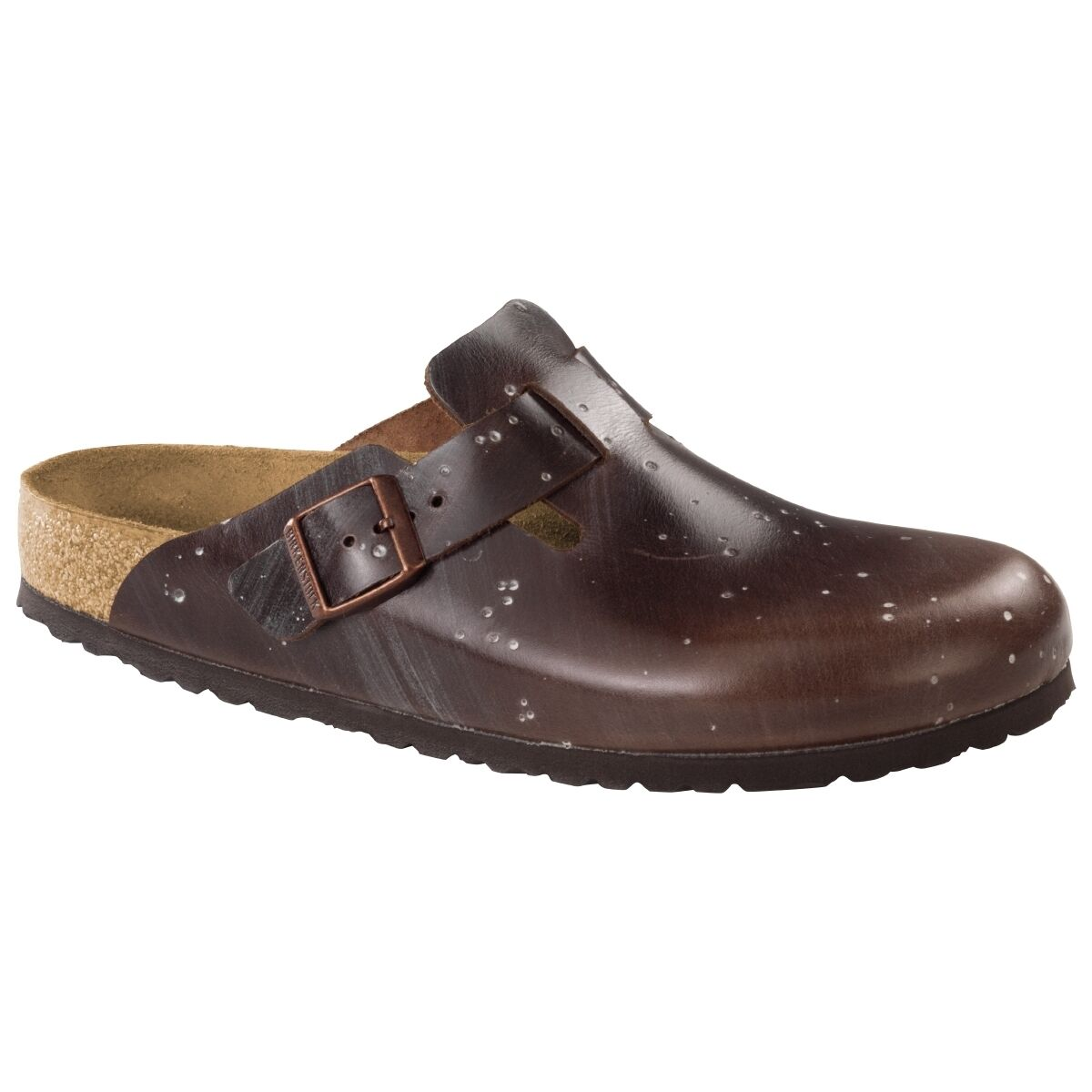 Birkenstock Boston brown Leder Clogs Schuhe Pantolette Clog brown Boston Weite schmal 1006581 2ac1da