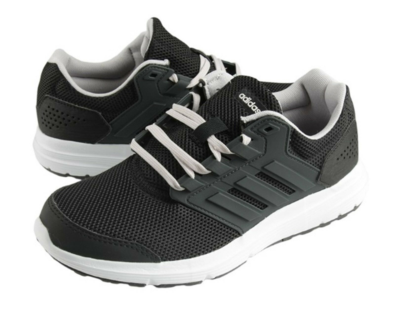 Zapatos De Entrenamiento Adidas Mujer Galaxy 4 Negro blancoo Zapatillas  Zapato de correr B43837  forma única