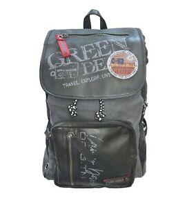 CAMP-DAVID-Rucksack-Backpack-Travel-Explore-schwarz-Vintage-cool