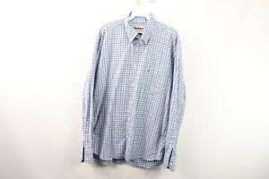 Barbour-Mens-Medium-Regular-Fit-Long-Sleeve-Casual-Plaid-Button-Shirt-Cotton
