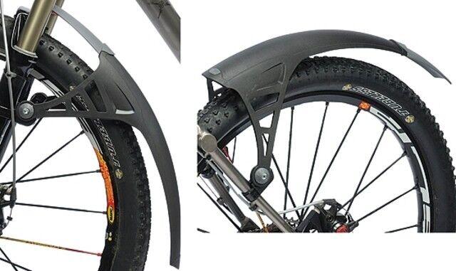 Zefal Parafango Spritzsschutz per Bicicletta Forcella Anteriore o il Posteriore
