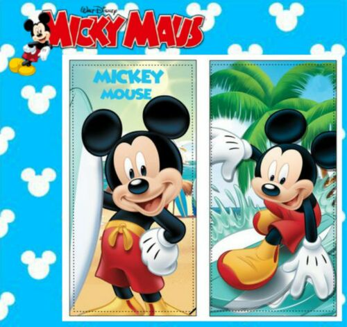 Micky Maus Mouse Handtuch Duschtuch Badetuch DISNEY KINDER 140x70cm