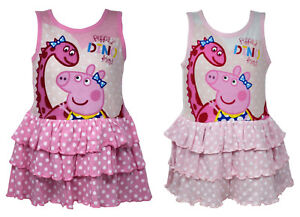 Licensed-Peppa-Pig-Cotton-Dress-for-Girls-in-Pink-Sleeveless