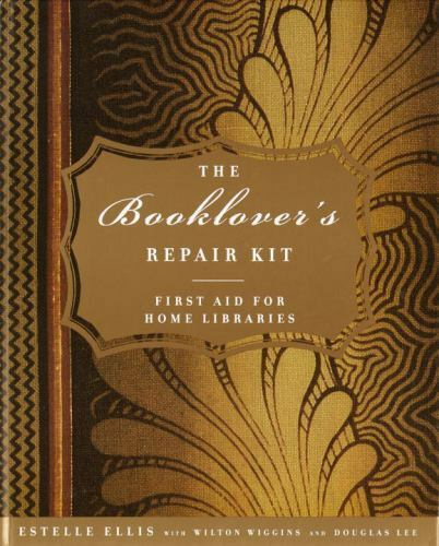 BRAND NEW! The Booklover's Repair Kit w/ BOOK! Wilton Wiggins (FAST SHIPING!)