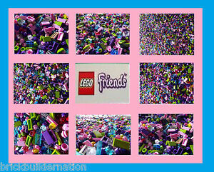 200-GIRL-FRIENDS-NEW-LEGO-LEGOS-SMALL-DETAIL-PIECES-FROM-HUGE-BULK-LOT-RANDOM