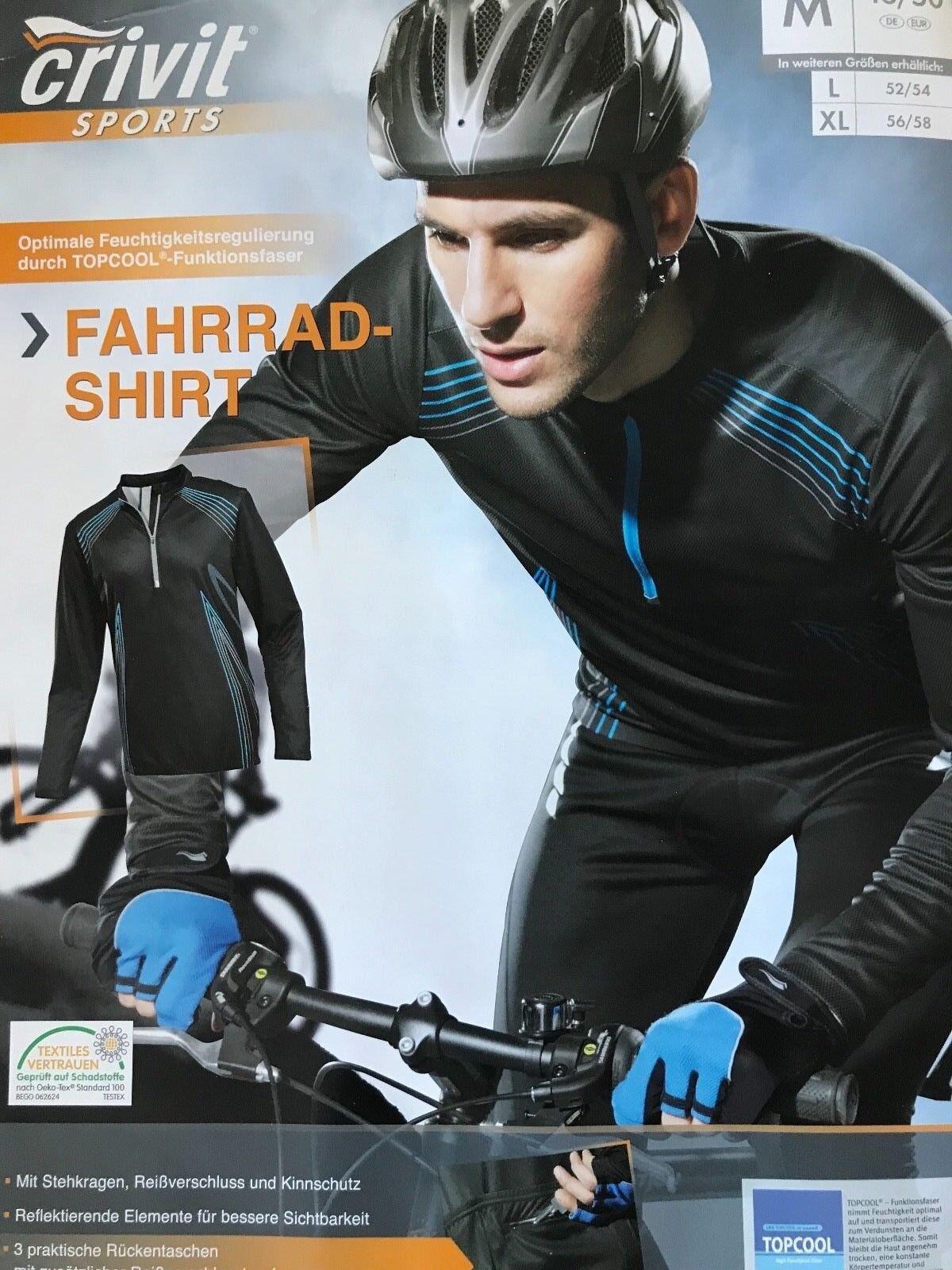 Details about Original CRIVIT® Bike Men s Cycling Jersey Long Sleeve T-Shirt  TOPCOOL® Fabric a4bc32c64