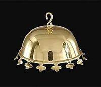 Reproduction Brass Clover Leaf Smoke Bell For Oil/coal/kerosene Hanging Lamps