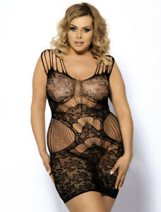 Lace-Body-Stocking-Slip-with-Cut-Outs-Plus-Size-18-to-24