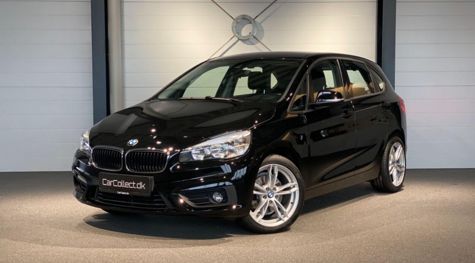BMW 220d 2,0 Active Tourer Advantage aut. 5d - 260.000 kr.