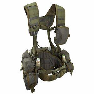 SSO   SPOSN Tactical Vest Smersh 45rds Machinegun Mags Olive Russian ... 3a66028068ba