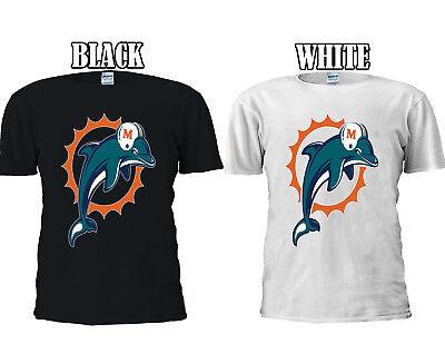 Miami Dolphins Football Americano T-shirt Da Baseball Gilet Uomini Donne Unisex 2688-mostra Il Titolo Originale Prezzo Moderato