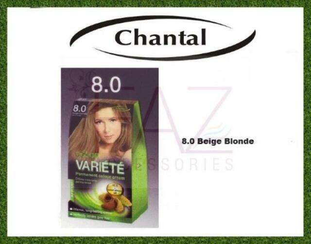 e2534ec22c3 Chantal VARIETE Professional Permanent Hair Dyes Cream Color Shades ...