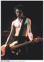 Sid Vicious - Vintage Music Photo Poster - 23x33 Uk Import Atlanta 31349