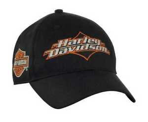 Harley-Davidson Men s Joy Ride Bar   Shield Baseball Cap - Black ... 961899589470