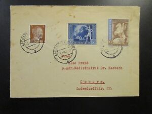 Germany-SC-B209-amp-B210-On-1942-Cover-to-Coburg-Z6706