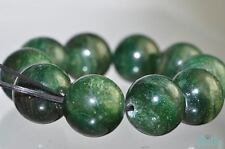 10 Pcs 12mm African GREEN AVENTURINE Round Beads Pendant I0569