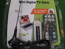 DVB-T1 USB-Stick inkl. Antenne + FERNBEDIENUNG DIGITAL TV+RADIO auf PC+LAP 25190