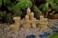Miniature Dollhouse FAIRY GARDEN Sandcastle Set/3 Sand Castle GO 16844