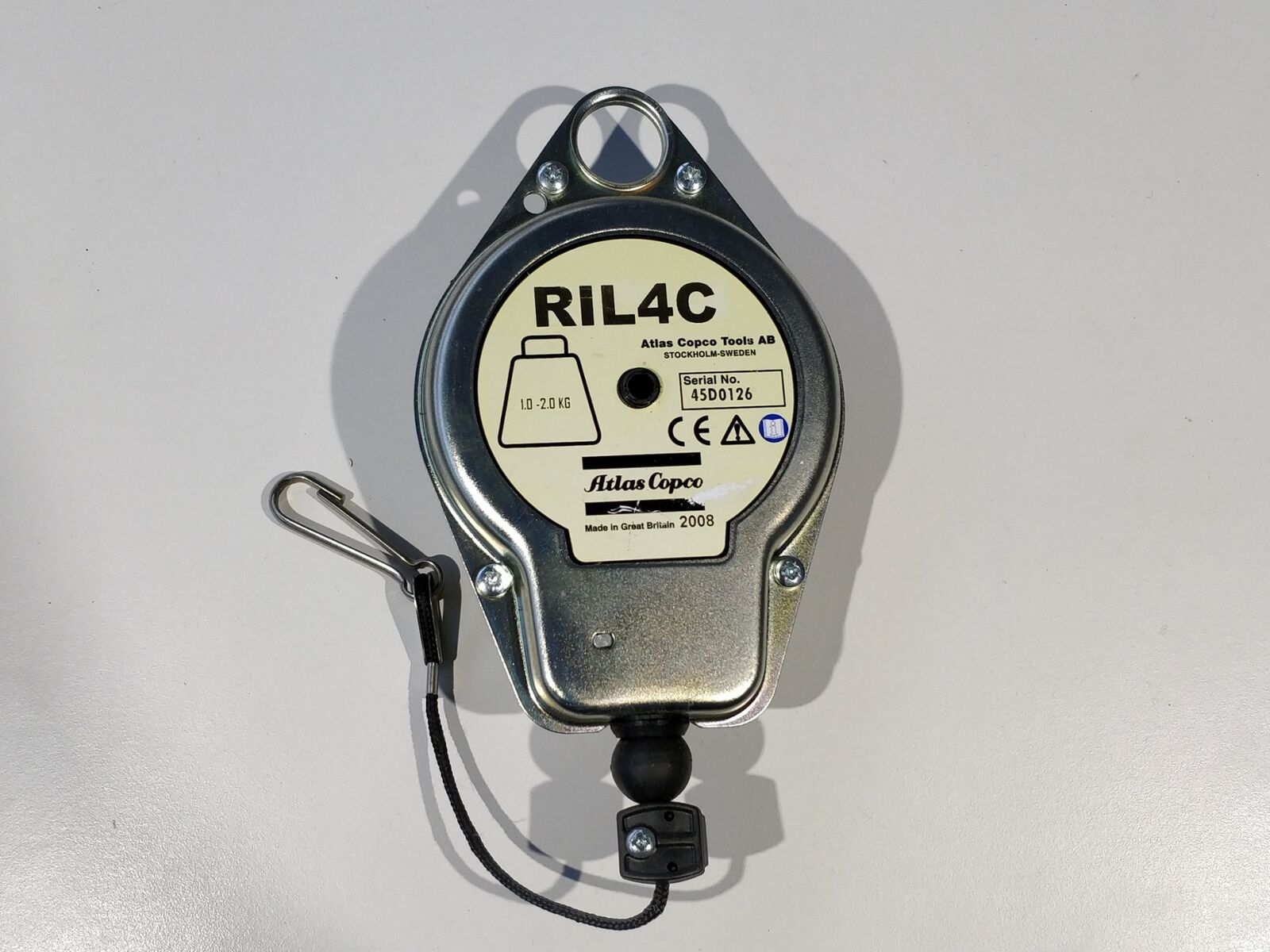 Atlas Copco RIL 4C Gewichtsausgleicher Balancer Federzug 1,0 - 2,0 KG
