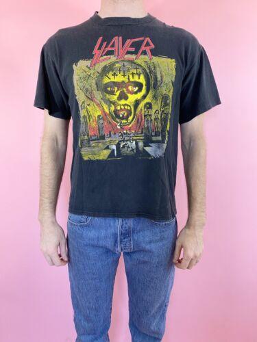"Vintage Slayer ""Seasons In The Abyss"" Brockum T-sh"
