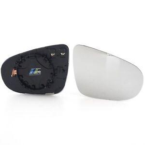 f2e08b5ec0bcbe Das Bild wird geladen Spiegelglas-Glas-Aussenspiegel-heizbar-Rechts-passt -fuer-VW-