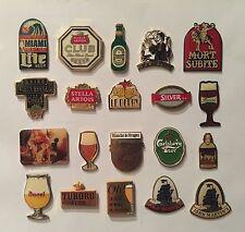 Lot 20 PIN'S ALCOOL BOISSON BIERE BELGE BEER BIER CARSBERG DUVEL KRIEK TUBORG