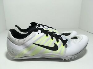 competitive price f7384 1b611 Image is loading Nike-Zoom-Ja-Fly-2-Track-Spikes-White-