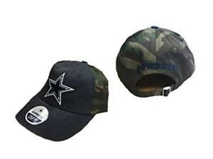8a146e7f69a Dallas Cowboys Mens Woodland Camo Adjustable Hat   Cap 888841267376 ...