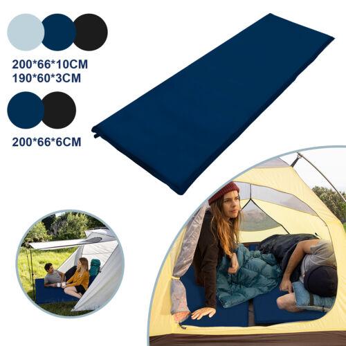 Selbstaufblasende Isomatte Schlaf Falten Campingmatte Luftmatratze Outdoor
