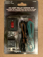 Wiring Harness Kit ~ 12V 40A Relay ON//OFF Switch ~ ALL Auxiliary Lights ~ A-720