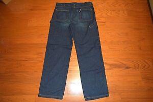 a46a8271 SilverTab Levi's 660 -LOOSE Fit CARPENTER Style Blue Jeans Men Size ...