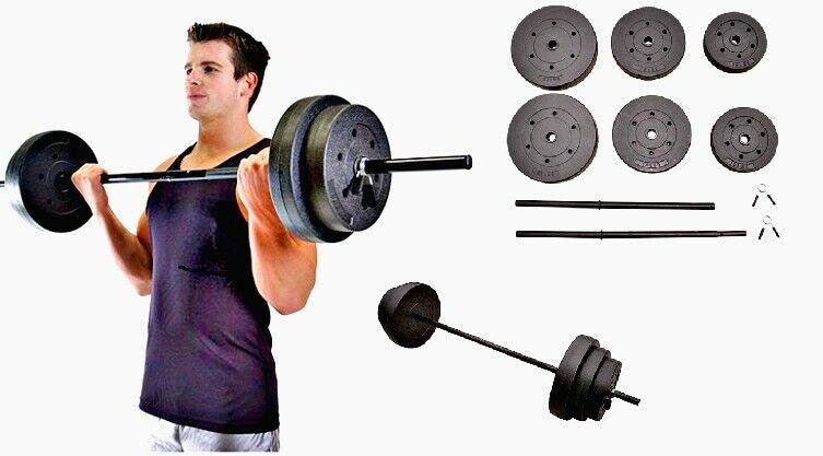Casa De Mancuernas Barbell 100lbs conjuntos de Peso Gimnasio Fitness Equipo construir músculo Venta