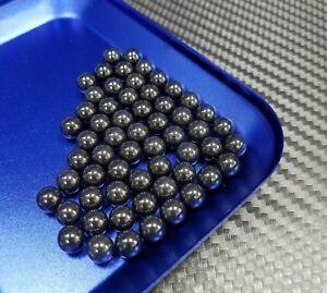 """[10 Pcs] 6.35mm (1/4"""") G5 Si3N4 Ceramic Loose Bearing Balls (Silicon Nitride)"""