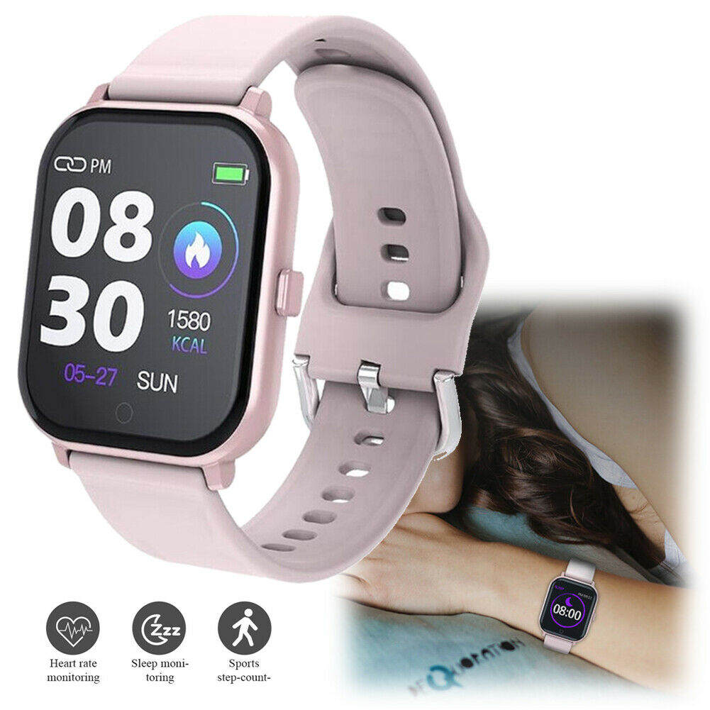 Women Smart Watch Sport Fitness Tracker for iPhone LG Samsung Note 5 8 9 10 Plus Featured fitness for iphone note samsung smart sport tracker watch women