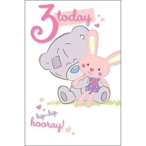 3rd Birthday Me to You Bear Cards