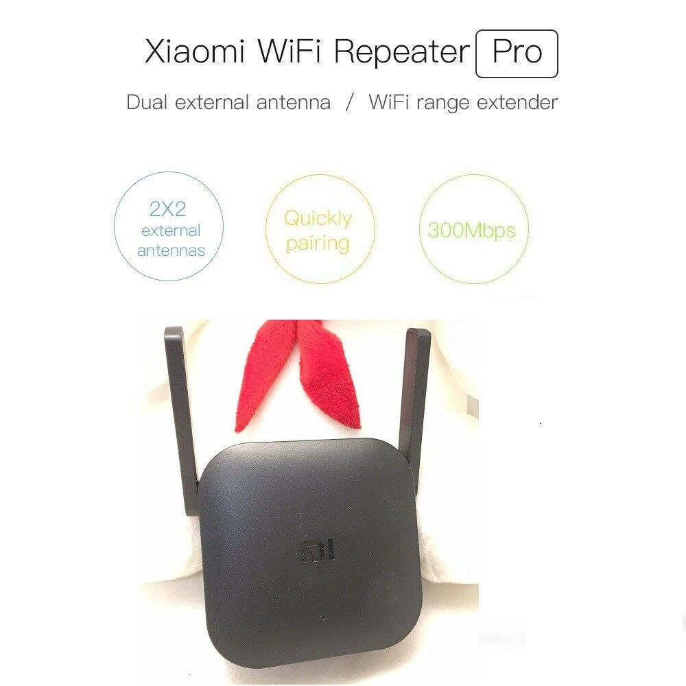 Xiaomi Mi Wifi Repeater Pro Wireless Network Signal Booster Extender Original 100 Norton Secured Powered By Verisign