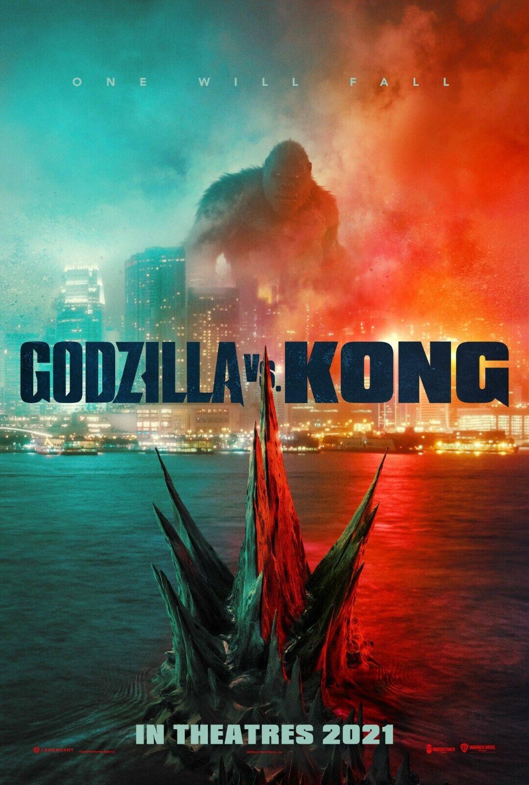 "New Art Print of 2021 Promo Poster ""Godzilla vs. Kong"" on eBay thumbnail"