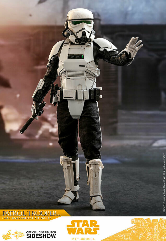 Hot Toys Solo   ein Stern Wars Story Patrol Trooper 1 6 Maßstab 12   Figur