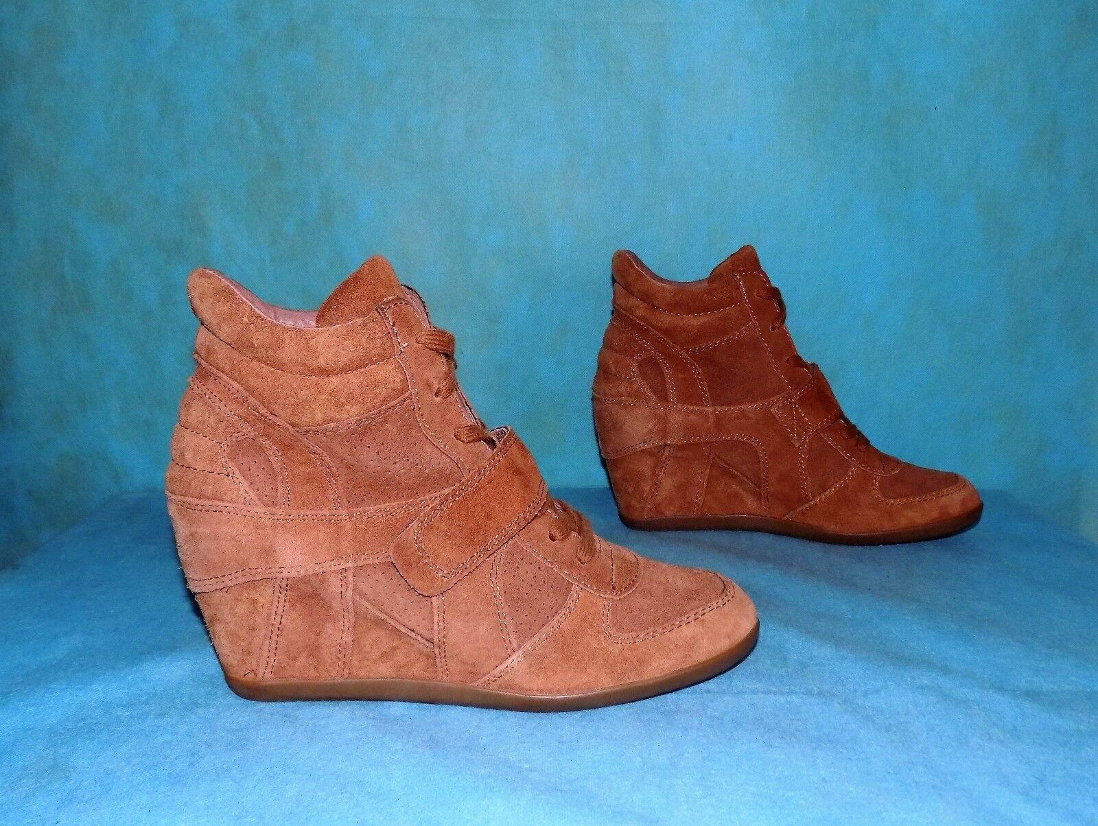 zapatillas con cuña ASH bowie de piel p 41 fr nueva con caja
