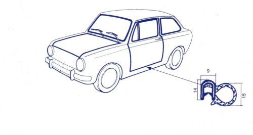 Special Dichtung raum anschluss rechts und links Fiat 850 Limousine